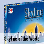 Bordspel Skyline of the World